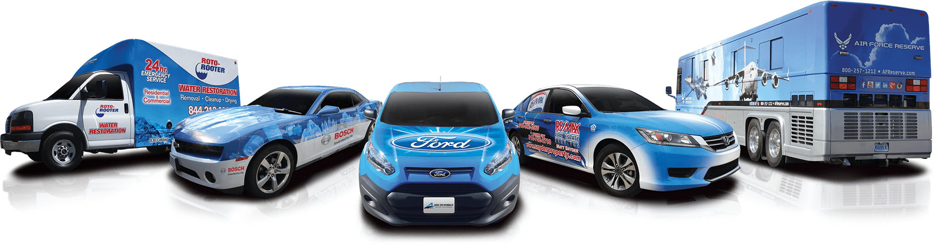 Top 3 Most Common Vehicles for Vinyl Graphics