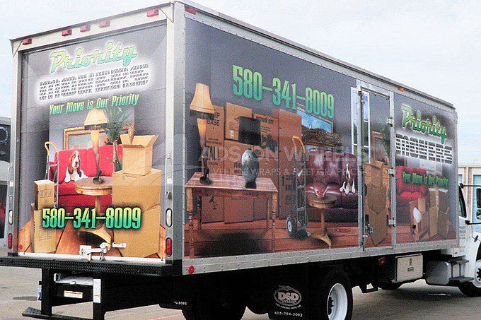 Box Truck Wraps and Graphics