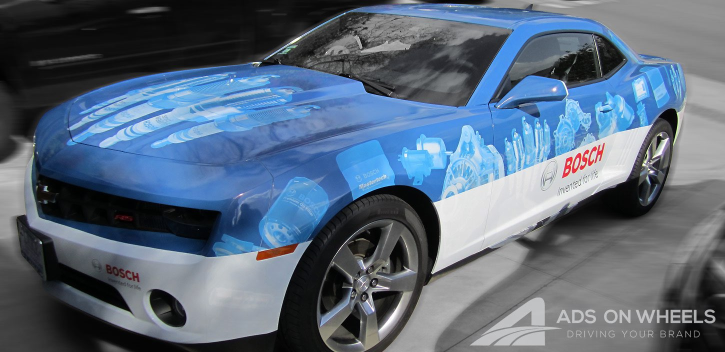 Coupe Wraps and Graphics