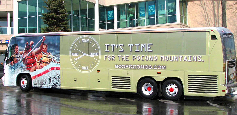 Coach Bus Wraps