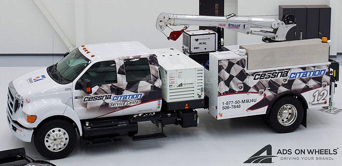 Utility Truck Wraps