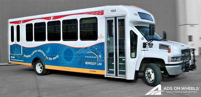 Shuttle Bus Wraps