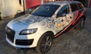 SUV Wraps Graphics Audi Q7 MAG35 3