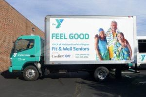 Box Truck Wrap YMCA