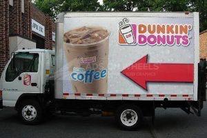 Box Truck Wrap Dunkin Donuts