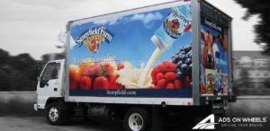 Box Truck Wrap Graphics Stonyfield Farm