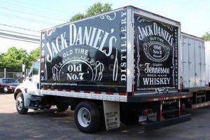 Box Truck Wrap Jack Daniels Beverage JDC