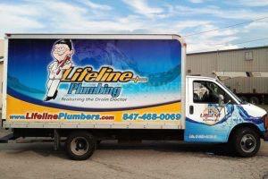 Box Truck Wrap Plumbing LLP