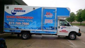 Box Truck Wrap Roto Plumbing