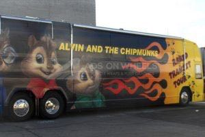 Bus Wrap Movie Alvin
