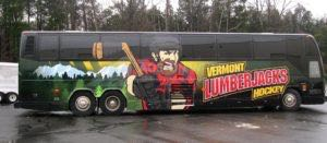 Bus Wrap Vinyl Vt Hockey