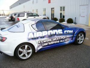 Car Wrap Graphics Coupe Air