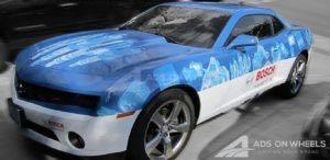 Car Wrap Graphics Coupe Bosch