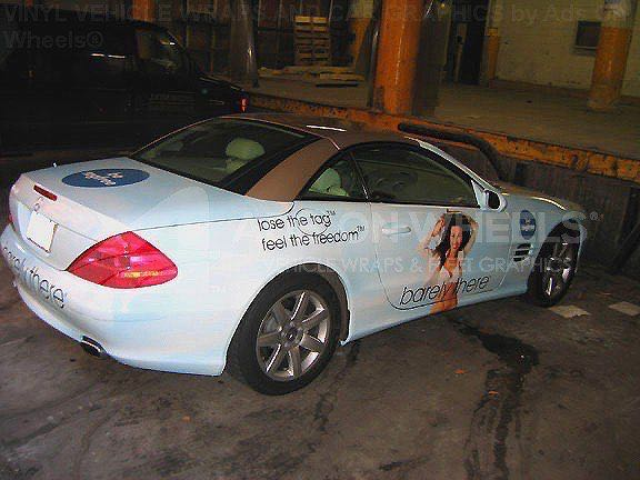 Car Wrap Graphics Wraps Coupe Barely