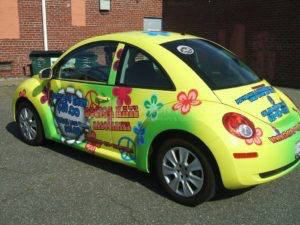 Car Wrap Graphics Wraps Coupe Beetle DRK