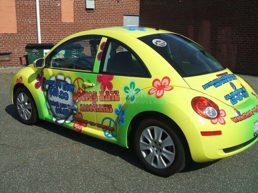 Car Wrap Graphics Wraps Couple Beetle DRK