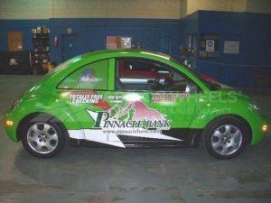 Car Wrap Graphics Wraps Coupe Beetle Bank Pinnacle