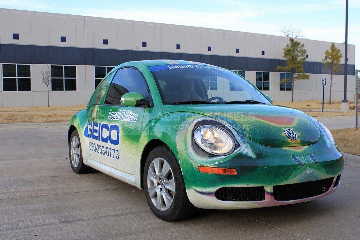 Car Wrap Graphics Wraps Coupe Beetle Geico