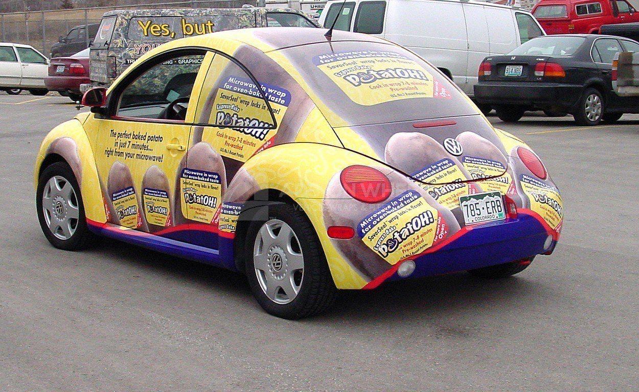 Car Wrap Graphics Wraps Coupe Beetle Potatoh