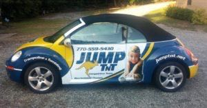 Car Wrap Graphics Wraps Coupe Convertible Beetle Fitness Jump Franchise