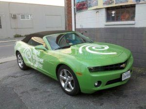 Car Wrap Graphics Wraps Coupe Convertible Camaro Time Warner