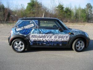 Car Wrap Graphics Wraps Coupe Mini Harley Gsh