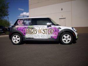 Car Wrap Graphics Wraps Coupe Mini Hrb 1