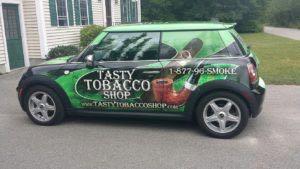 Car Wrap Graphics Wraps Coupe Mini Tobacco