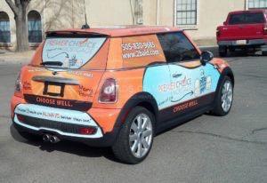 Car Wrap Graphics Wraps Coupe Mortgage Pcm