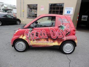 Car Wrap Graphics Wraps Coupe Pizza Smart Pzd3