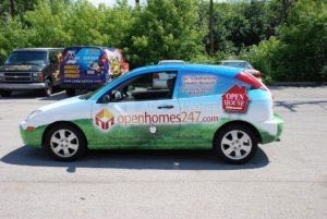 Car Wrap Graphics Wraps Coupe Real Estate Opn24