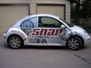 Car Wrap Graphics Wraps Coupe Snap Fitness Snp
