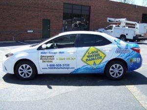 Car Wrap Graphics Wraps Sedan 800 Water Damage Franchise Rh