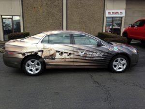 Car Wrap Graphics Wraps Sedan Air Force Bwa5