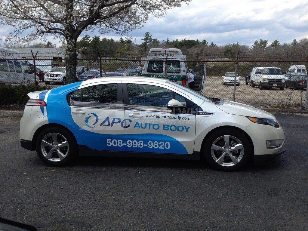 Car Wrap Graphics Wraps Sedan APC