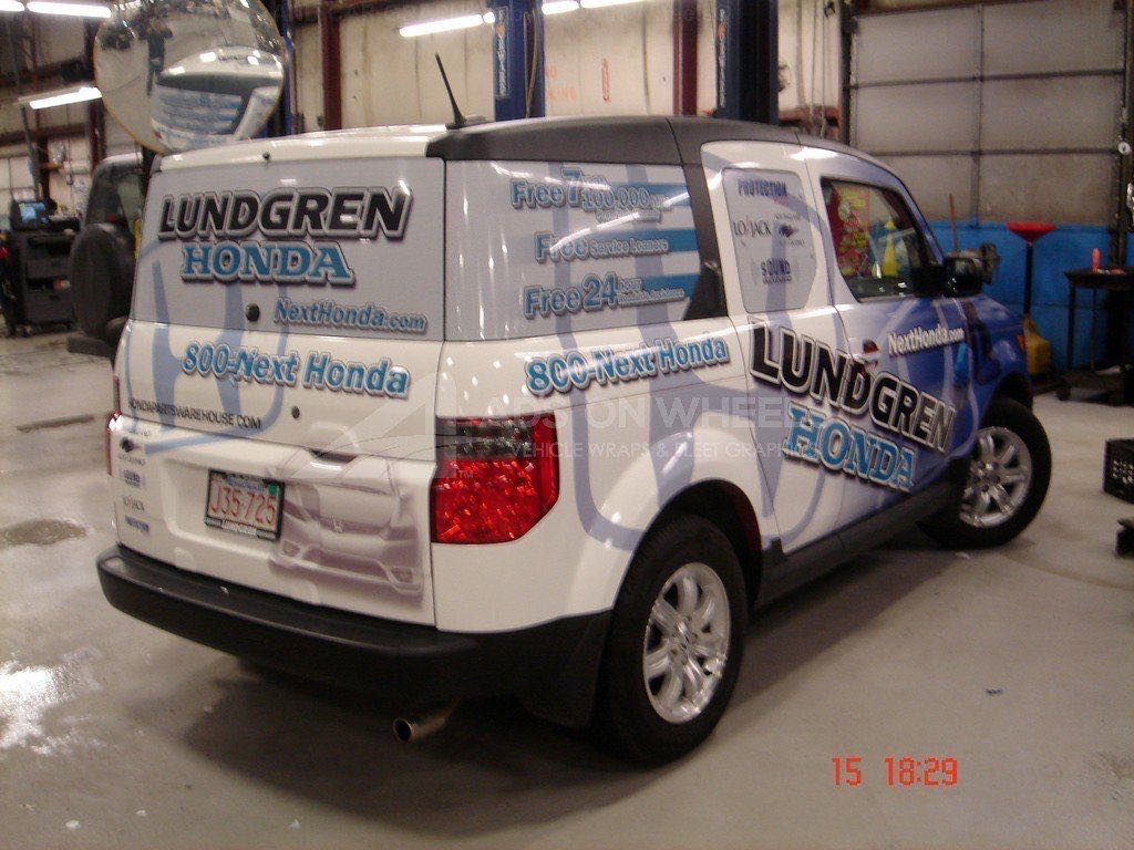 Car Wrap Graphics Wraps Sedan Automotive Honda