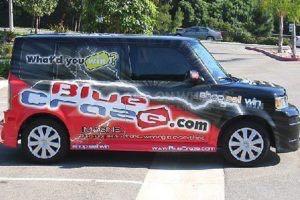 Car Wrap Graphics Wraps Sedan Bluecraze