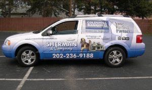 Car Wrap Graphics Wraps Sedan Coldwell Real Estate Wagon Sch