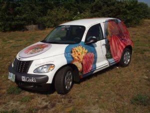 Car Wrap Graphics Wraps Sedan Cooks