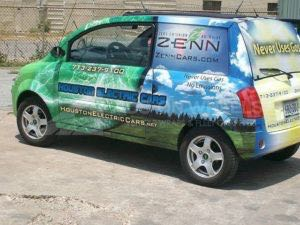 Car Wrap Graphics Wraps Sedan Electric Hec