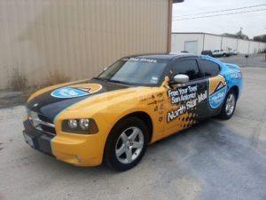Car Wrap Graphics Wraps Sedan Franchise Flip Flop Shops AM