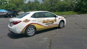 Car Wrap Graphics Wraps Sedan Garage Gar3
