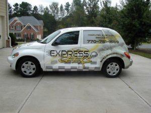 Car Wrap Graphics Wraps Sedan Geeks Express