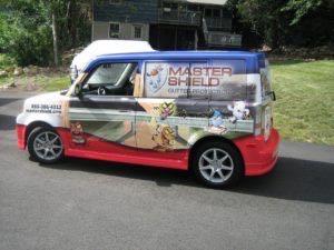 Car Wrap Graphics Wraps Sedan Gutters Mastershield