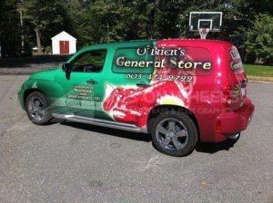 Car Wrap Graphics Wraps Sedan Hhr Obr
