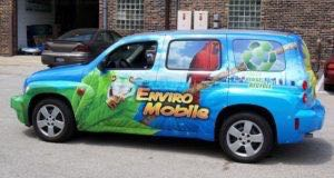 Car Wrap Graphics Wraps Sedan Hhr Recycle 1