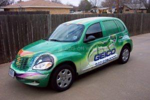 Car Wrap Graphics Wraps Sedan Insurance Geico Pt