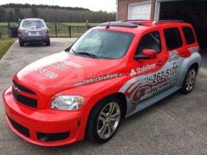 Car Wrap Graphics Wraps Sedan Insurance St Farm Hhr
