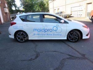 Car Wrap Graphics Wraps Sedan Maid Pro Decals GHES