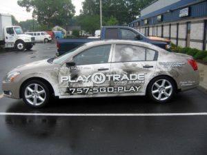Car Wrap Graphics Wraps Sedan Nissan Pnt Nw